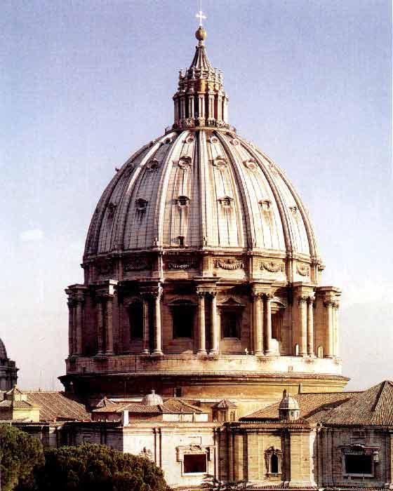 Микеланджело купол собора св петра в